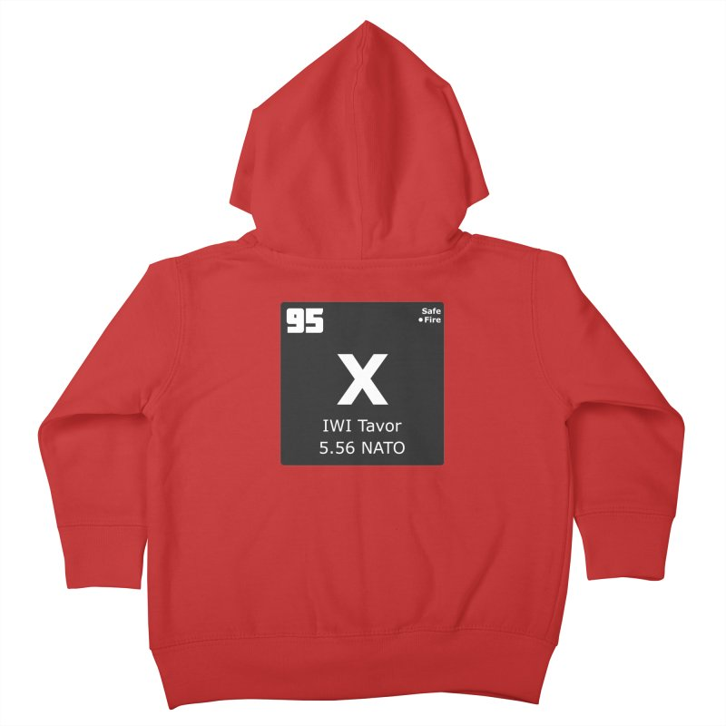 IWI X95 TAVOR Periodic Table Design Kids Toddler Zip-Up Hoody by Pixel Panzers's Merchandise