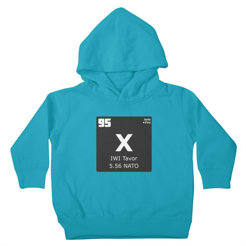 IWI X95 TAVOR Periodic Table Design Kids Toddler Pullover Hoody by Pixel Panzers's Merchandise