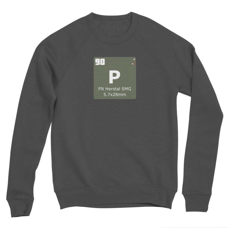 P90 FN Herstal SMG Periodic Table Design Men's Sponge Fleece Sweatshirt by Pixel Panzers's Merchandise