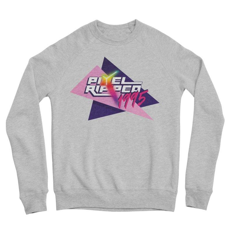 Pixel Ripped 1995 Logo Men's Sweatshirt by Pixel Ripped VR Retro Game Merchandise
