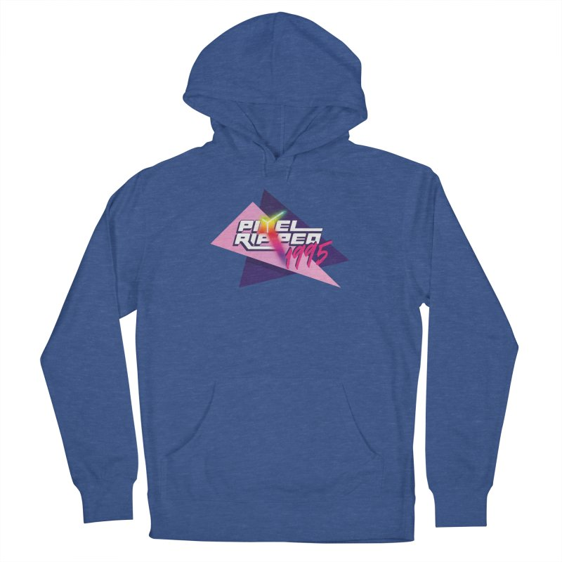 Pixel Ripped 1995 Logo Women's Pullover Hoody by Pixel Ripped VR Retro Game Merchandise