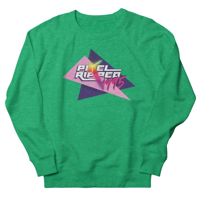 Pixel Ripped 1995 Logo Women's Sweatshirt by Pixel Ripped VR Retro Game Merchandise