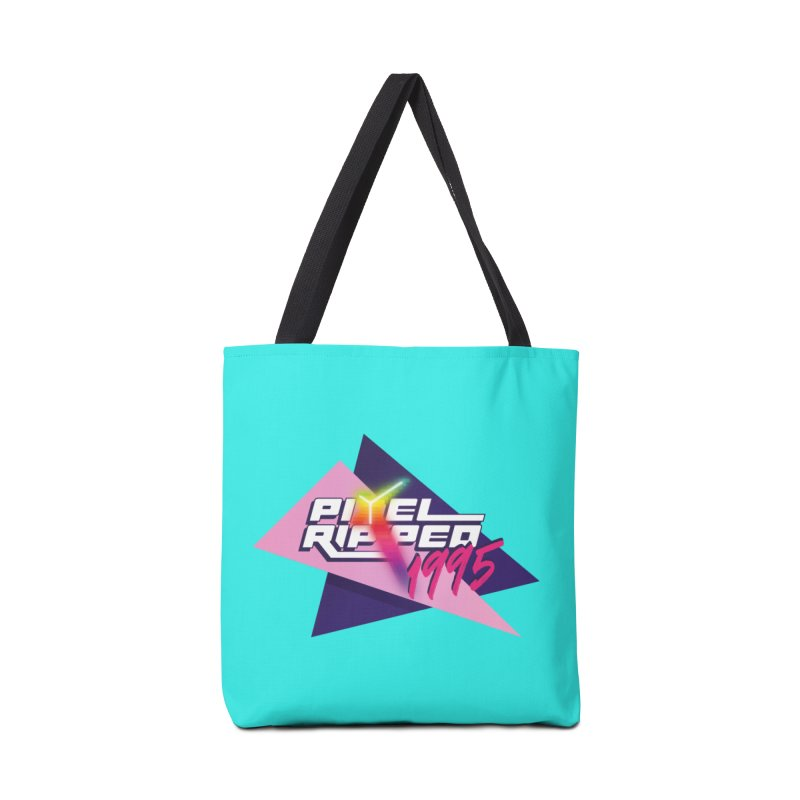 Pixel Ripped 1995 Logo Accessories Bag by Pixel Ripped VR Retro Game Merchandise