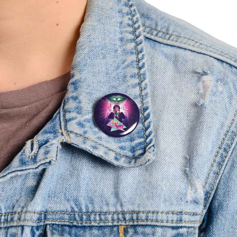 Pixel Ripped 1995 Accessories Button by Pixel Ripped VR Retro Game Merchandise