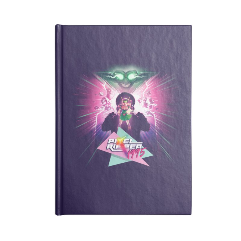 Pixel Ripped 1995 Accessories Notebook by Pixel Ripped VR Retro Game Merchandise