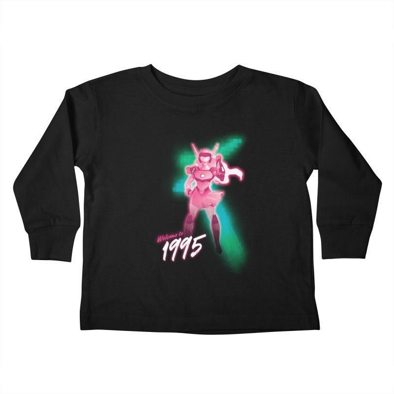 Welcome to 1995 Kids Toddler Longsleeve T-Shirt by Pixel Ripped VR Retro Game Merchandise