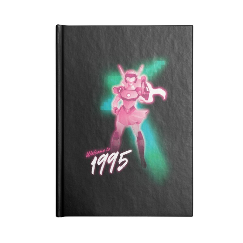 Welcome to 1995 Accessories Notebook by Pixel Ripped VR Retro Game Merchandise