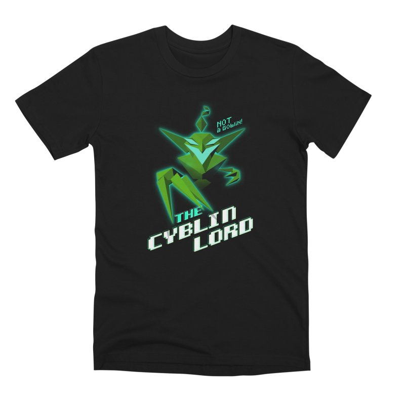 The Cyblin Lord Men's T-Shirt by Pixel Ripped VR Retro Game Merchandise