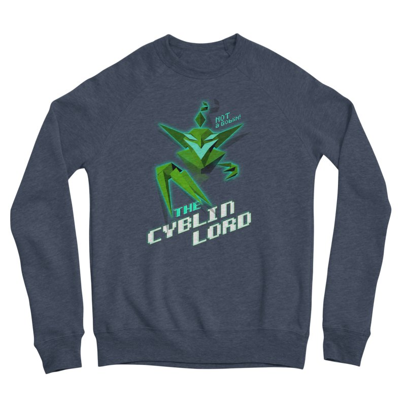 The Cyblin Lord Men's Sweatshirt by Pixel Ripped VR Retro Game Merchandise