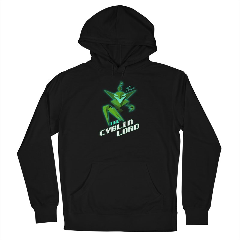 The Cyblin Lord Women's Pullover Hoody by Pixel Ripped VR Retro Game Merchandise