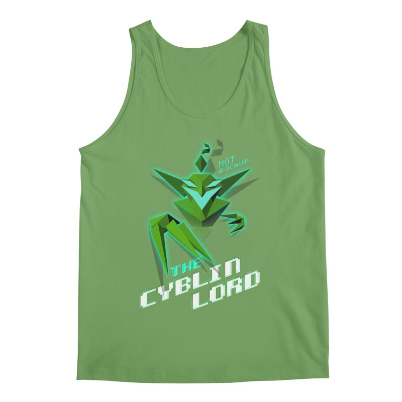 The Cyblin Lord Men's Tank by Pixel Ripped VR Retro Game Merchandise