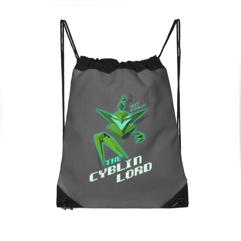 The Cyblin Lord Accessories Bag by Pixel Ripped VR Retro Game Merchandise