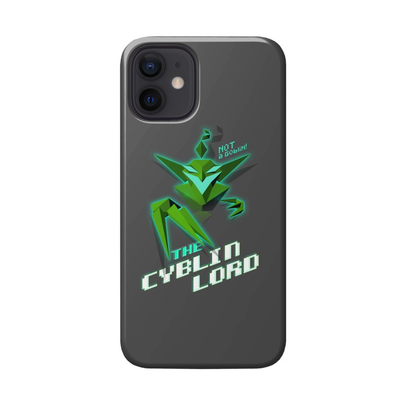 The Cyblin Lord Accessories Phone Case by Pixel Ripped VR Retro Game Merchandise