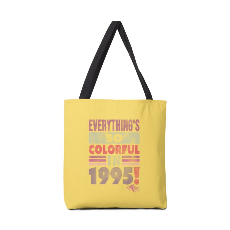 Everything's so colorful in 1995 Accessories Bag by Pixel Ripped VR Retro Game Merchandise
