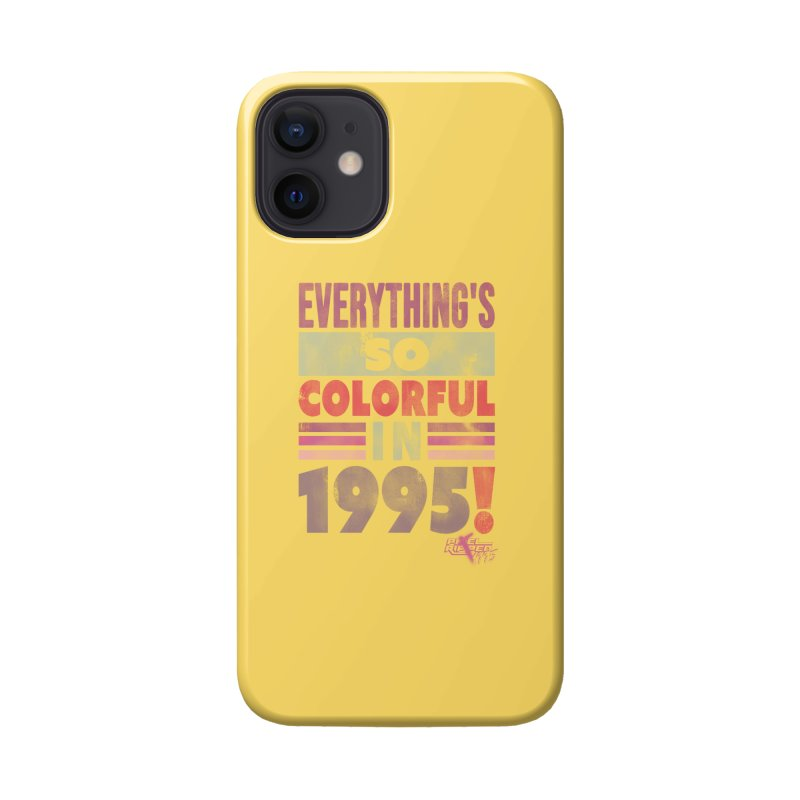 Everything's so colorful in 1995 Accessories Phone Case by Pixel Ripped VR Retro Game Merchandise