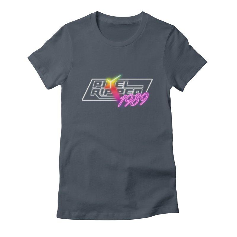 Pixel Ripped 1989 - Logo Women's T-Shirt by Pixel Ripped VR Retro Game Merchandise