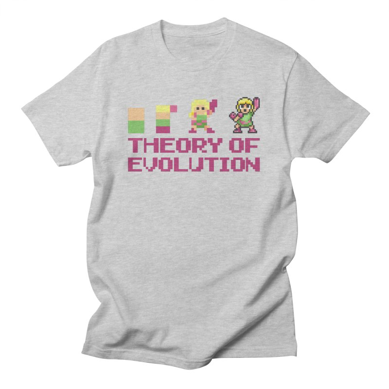 Theory of Evolution Men's T-Shirt by Pixel Ripped VR Retro Game Merchandise