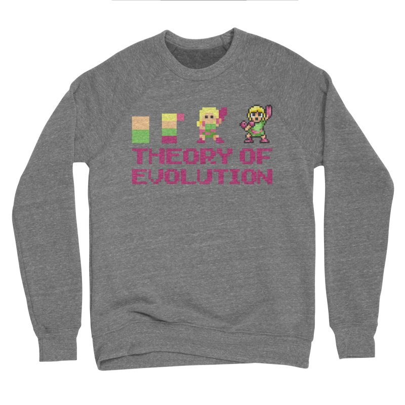 Theory of Evolution Men's Sweatshirt by Pixel Ripped VR Retro Game Merchandise