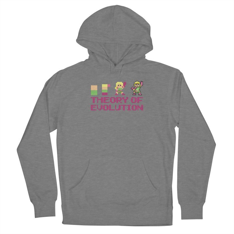 Theory of Evolution Women's Pullover Hoody by Pixel Ripped VR Retro Game Merchandise
