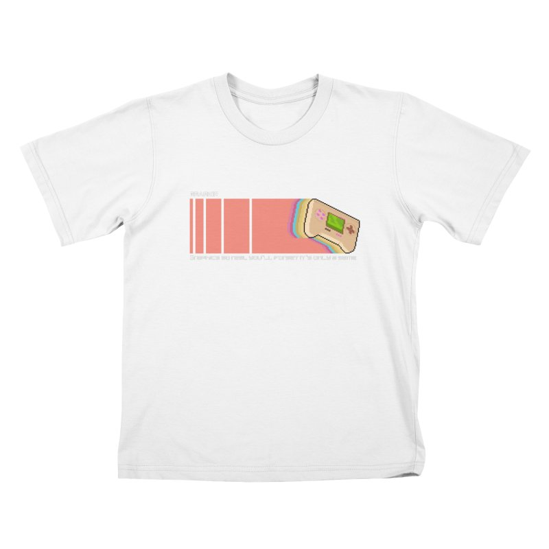 Gearkid Stripes B Kids T-Shirt by Pixel Ripped VR Retro Game Merchandise