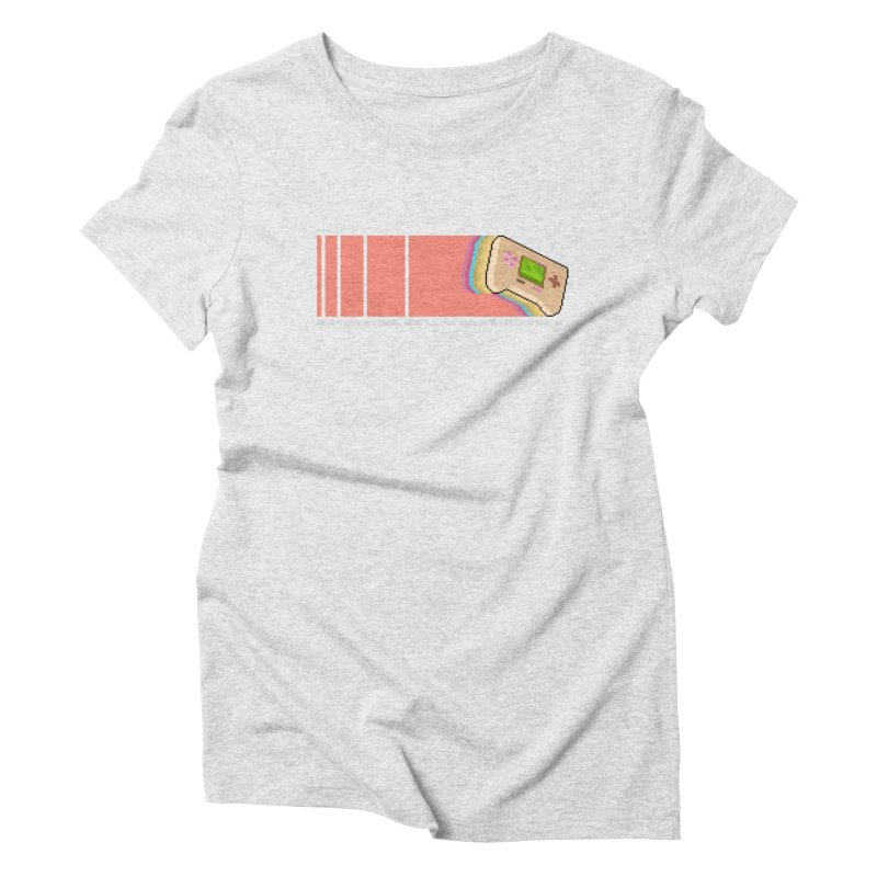 Gearkid Stripes B Women's T-Shirt by Pixel Ripped VR Retro Game Merchandise