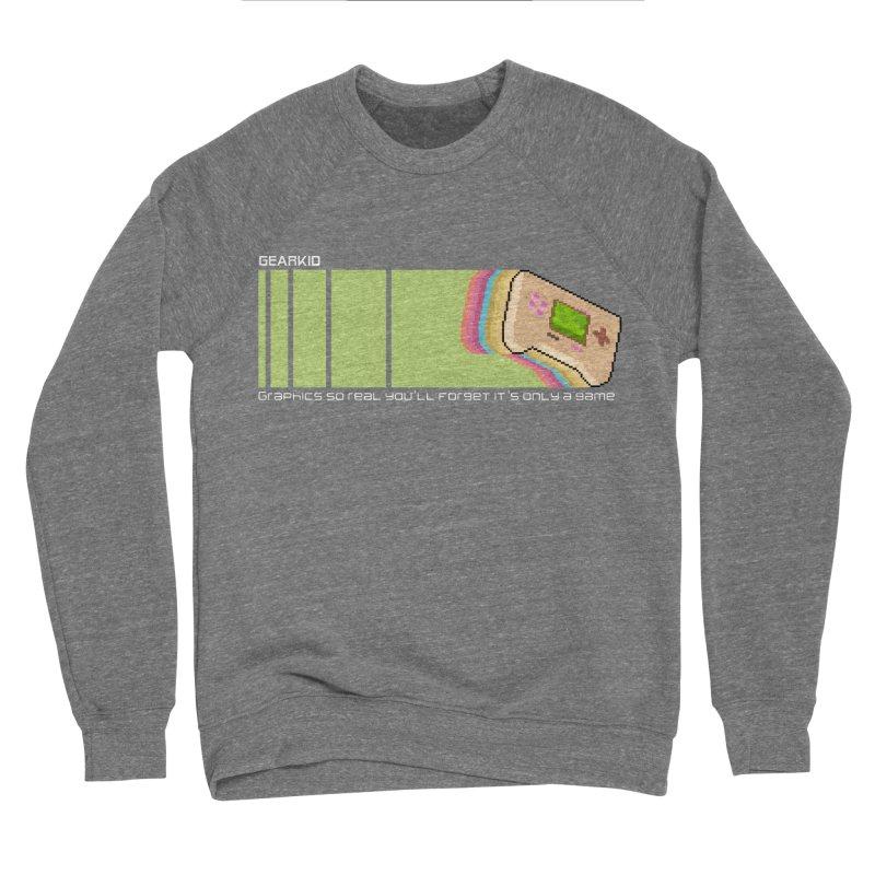 Gamekid Stripes Men's Sweatshirt by Pixel Ripped VR Retro Game Merchandise