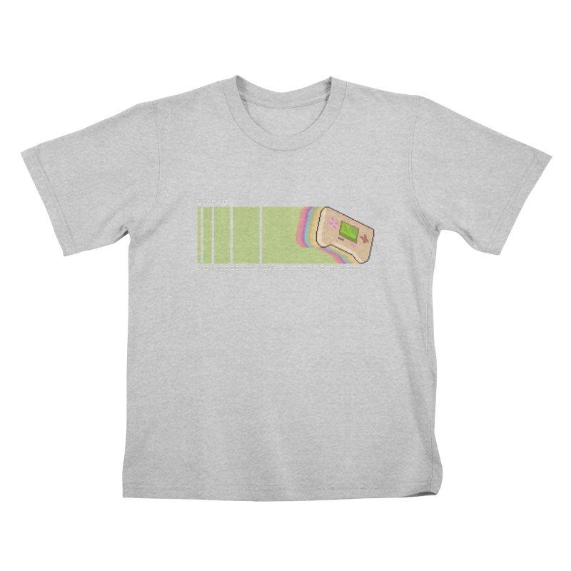 Gamekid Stripes Kids T-Shirt by Pixel Ripped VR Retro Game Merchandise