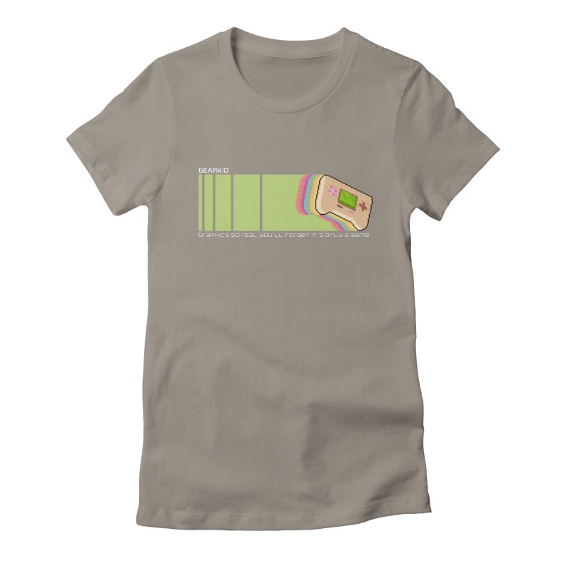 Gamekid Stripes Women's T-Shirt by Pixel Ripped VR Retro Game Merchandise