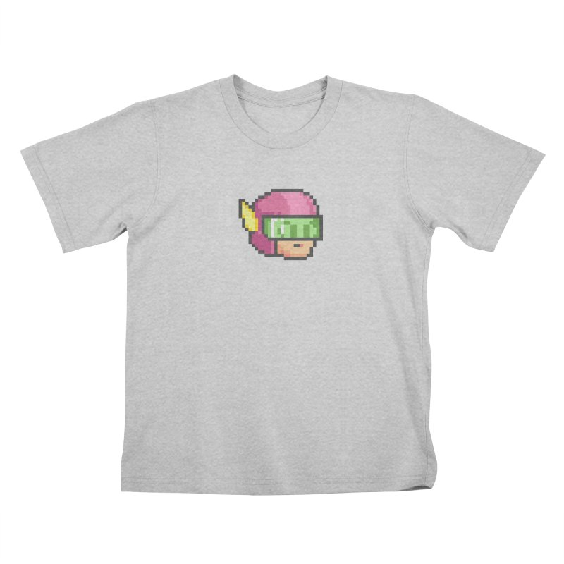 Dot Head Kids T-Shirt by Pixel Ripped VR Retro Game Merchandise
