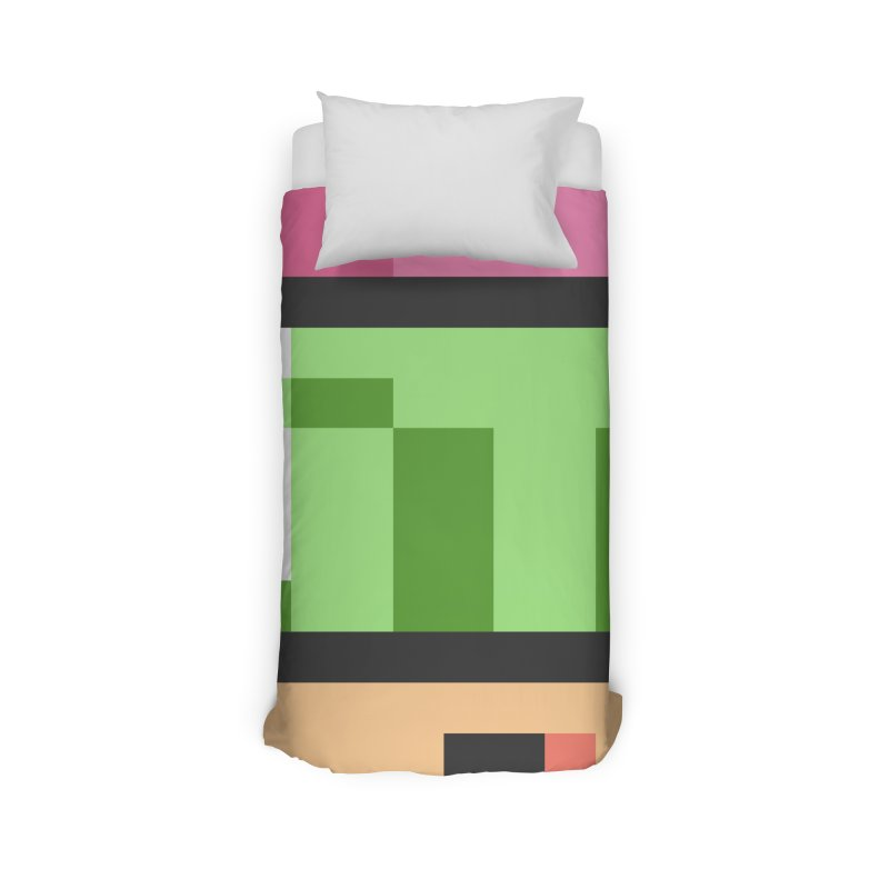 Dot zoom Home Duvet by Pixel Ripped VR Retro Game Merchandise