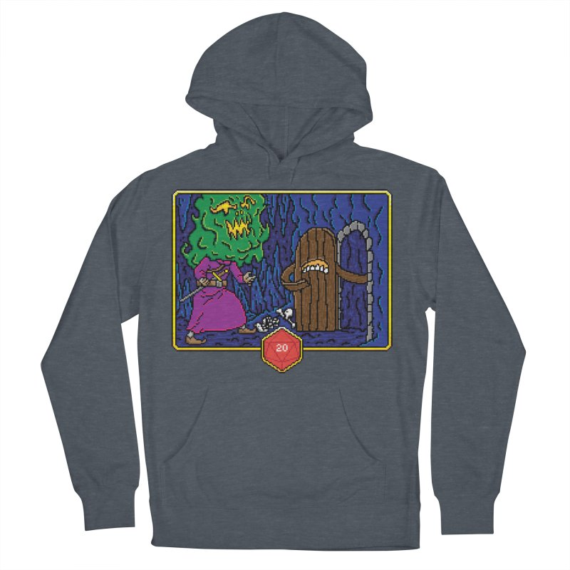Critical Situations - Intimidate the Door Women's Pullover Hoody by Pixels Missing