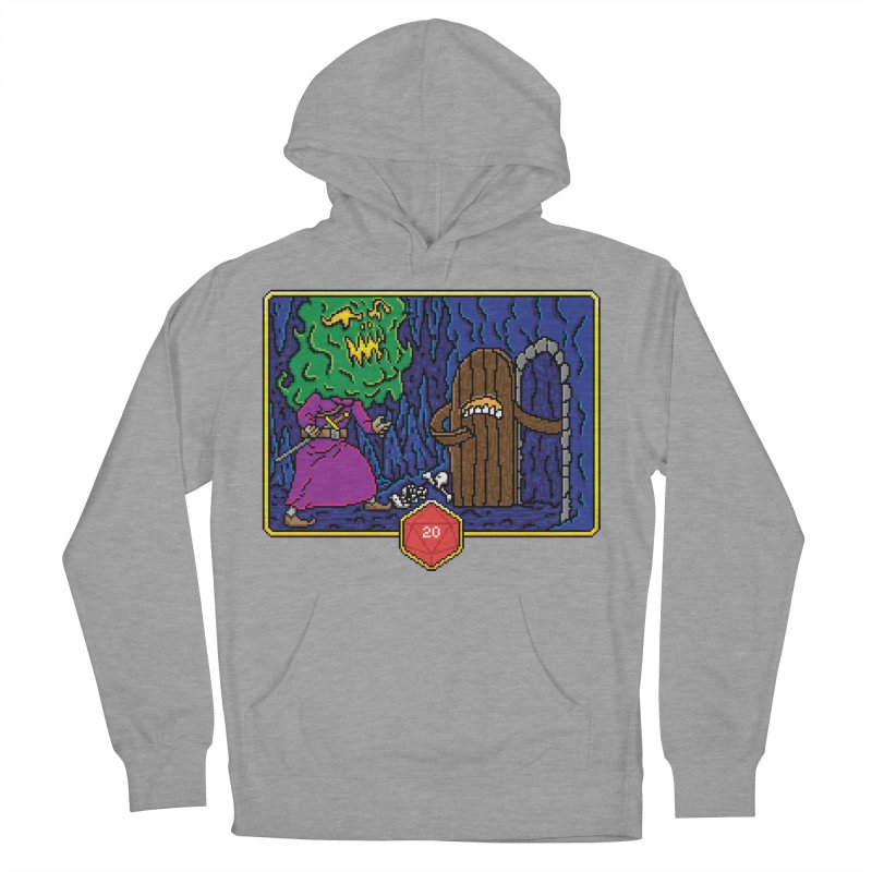 Critical Situations - Intimidate the Door Men's Pullover Hoody by Pixels Missing