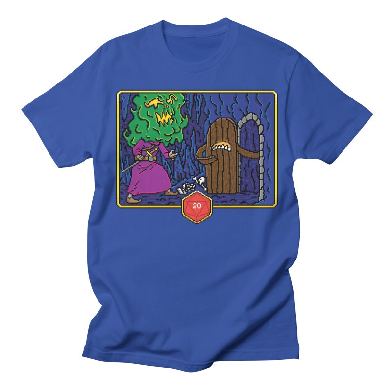 Critical Situations - Intimidate the Door Men's T-shirt by Pixels Missing