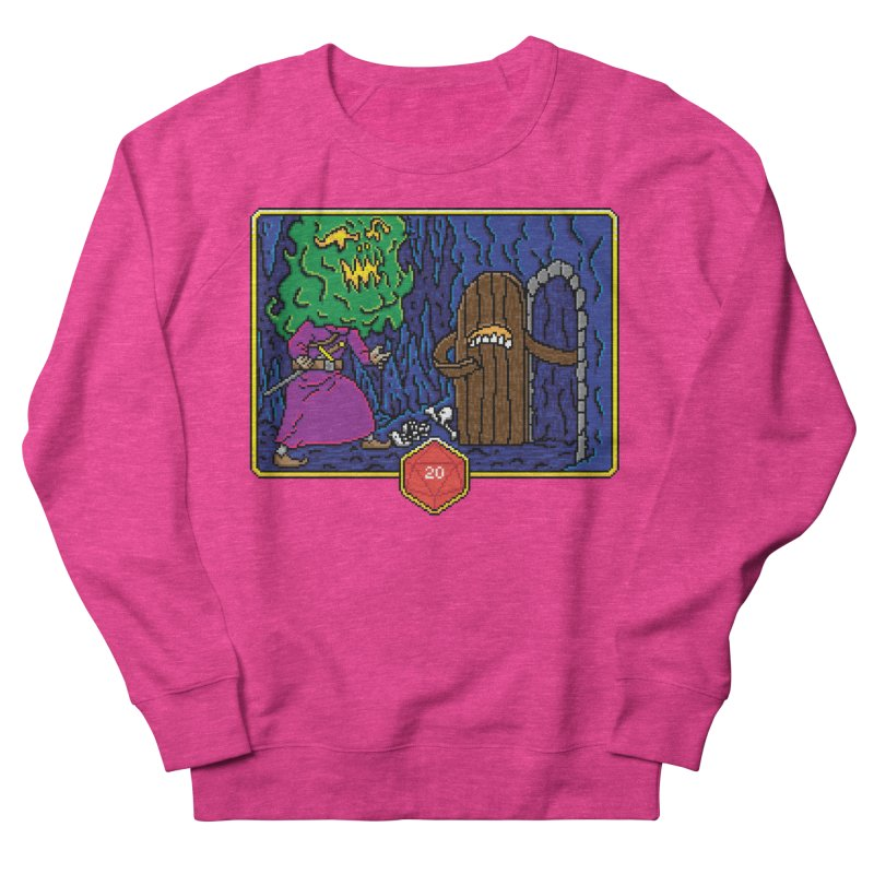 Critical Situations - Intimidate the Door Men's Sweatshirt by Pixels Missing