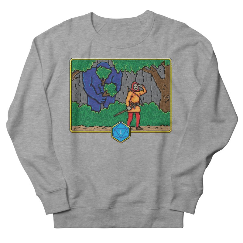 Critical Situations - Search the Area Men's Sweatshirt by Pixels Missing