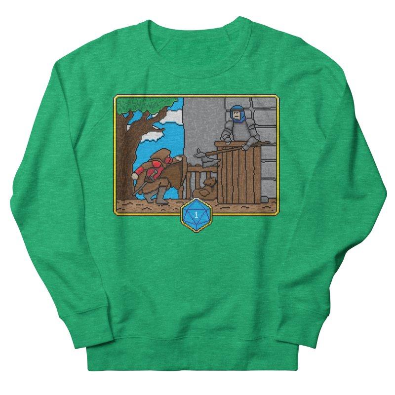 Critical Situations - Sneak On In Men's Sweatshirt by Pixels Missing