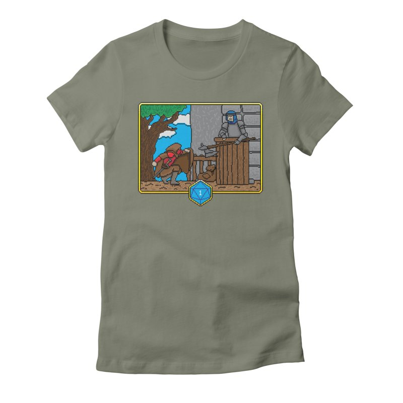 Critical Situations - Sneak On In Women's Fitted T-Shirt by Pixels Missing