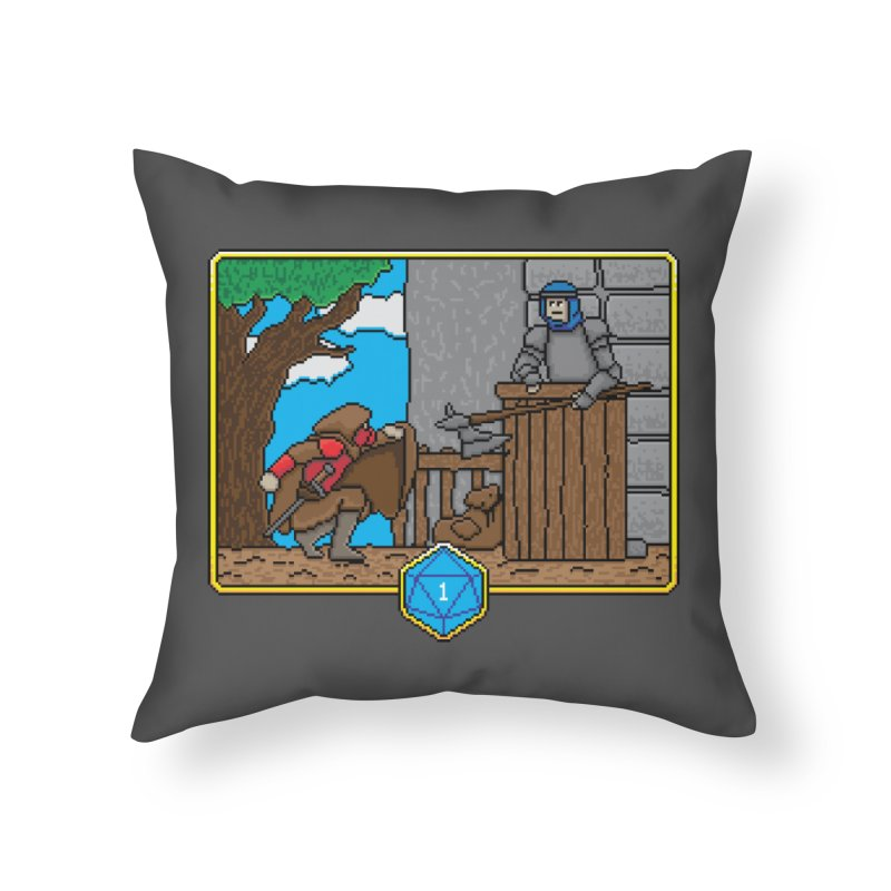 Critical Situations - Sneak On In Home Throw Pillow by Pixels Missing