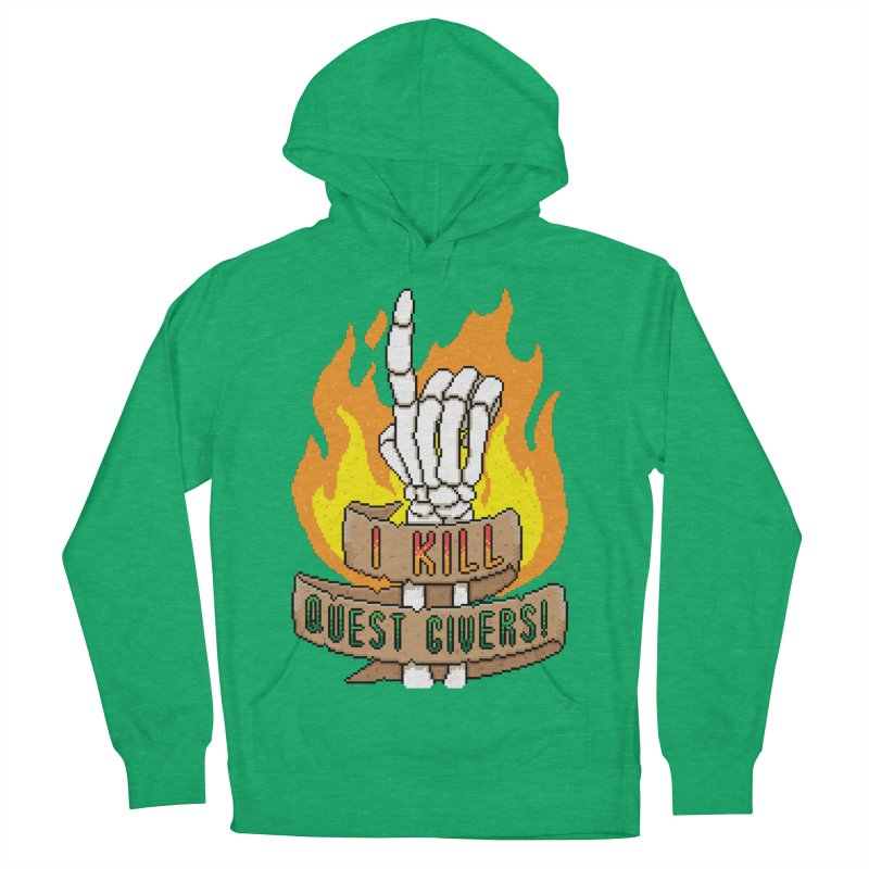 I Kill Quest Givers Women's Pullover Hoody by Pixels Missing