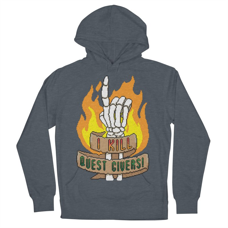 I Kill Quest Givers Men's Pullover Hoody by Pixels Missing
