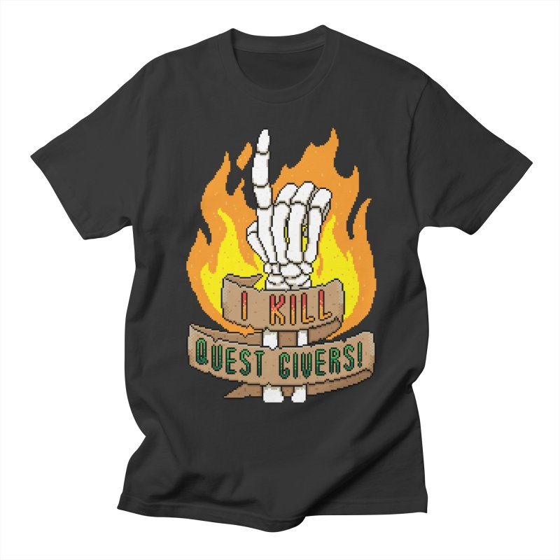 I Kill Quest Givers Men's T-shirt by Pixels Missing