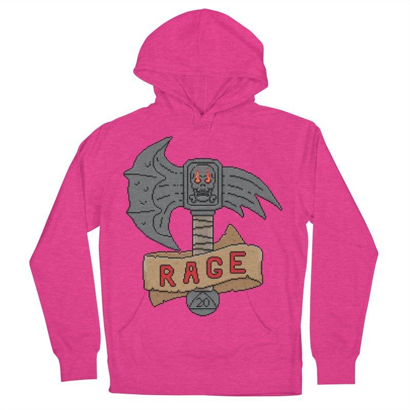 Rage Axe Women's Pullover Hoody by Pixels Missing