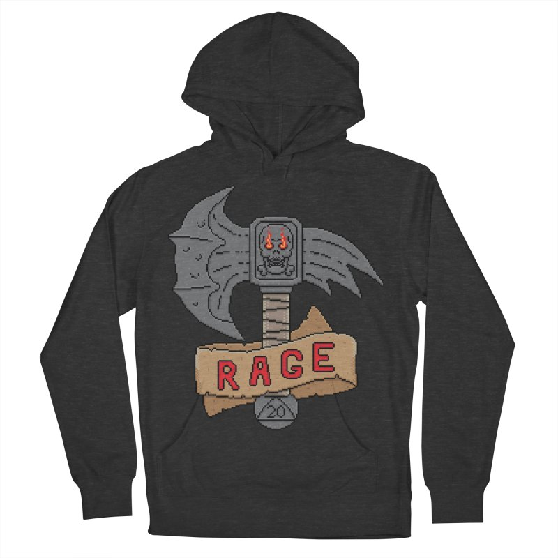 Rage Axe Men's Pullover Hoody by Pixels Missing