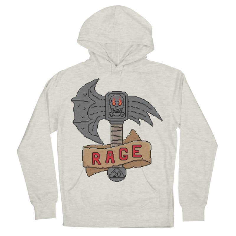 Rage Axe Men's Pullover Hoody by Pixels Missing