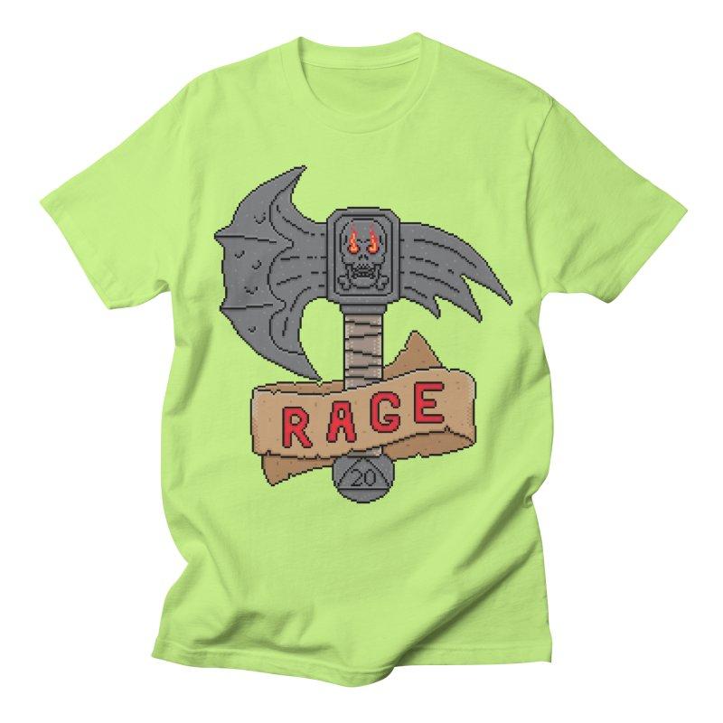 Rage Axe Women's Unisex T-Shirt by Pixels Missing