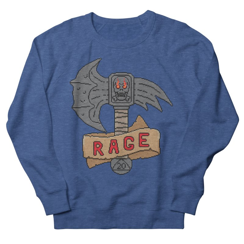 Rage Axe Women's Sweatshirt by Pixels Missing