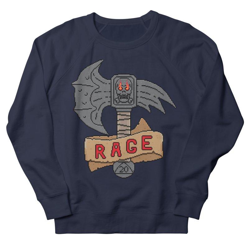 Rage Axe Women's Sweatshirt by Pixels Missing