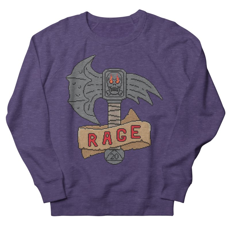 Rage Axe Men's Sweatshirt by Pixels Missing