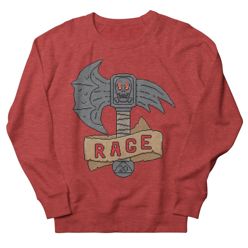 Rage Axe Men's Sweatshirt by Pixels Missing