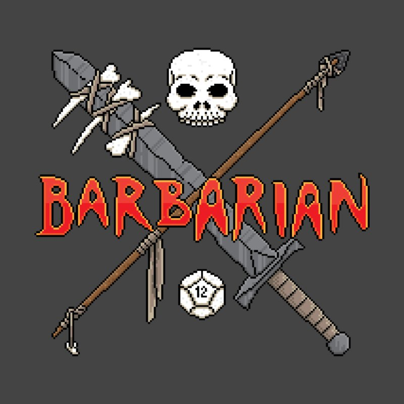 Barbarian Men's T-shirt by Pixels Missing